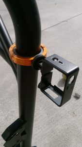 Orange Roll Bar Clamp