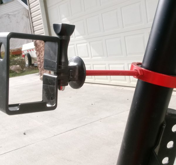 Red Roll Bar Clamp