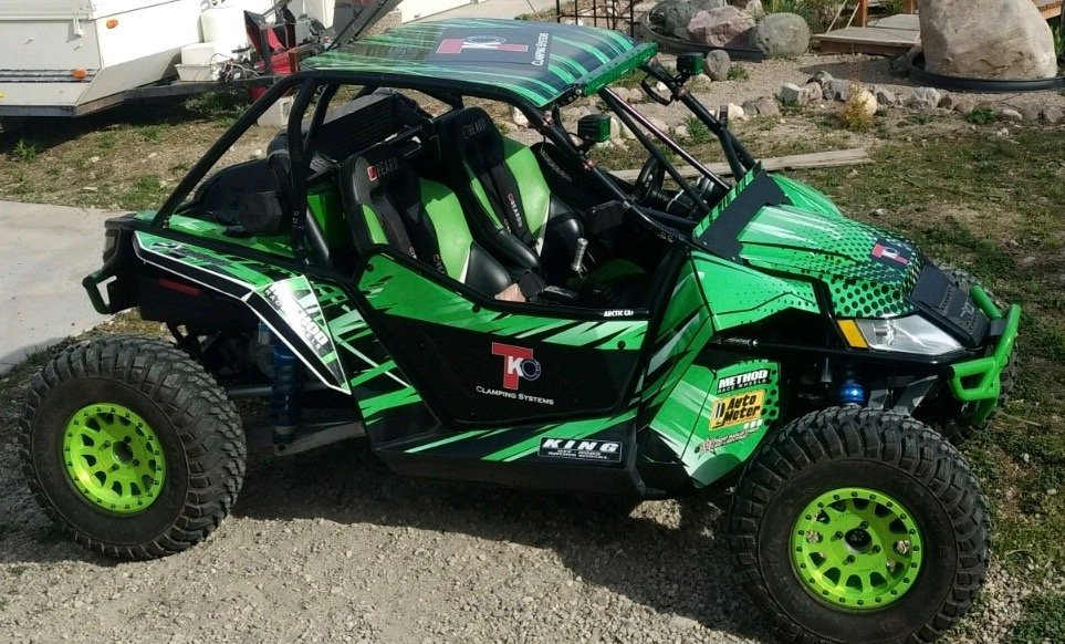 TKO buggy to attend events