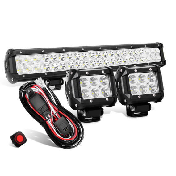 Nilight LED Light Bar Kit on