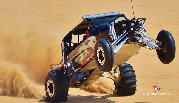 buggy in the sand
