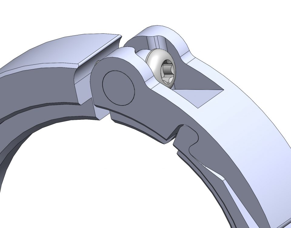 Micro adjustable clamp