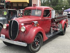 39 Ford Fire Truck All Wheels Weekend Dayton Washington