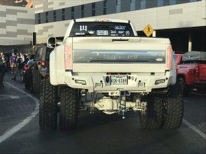 SEMA 2018 - white truck