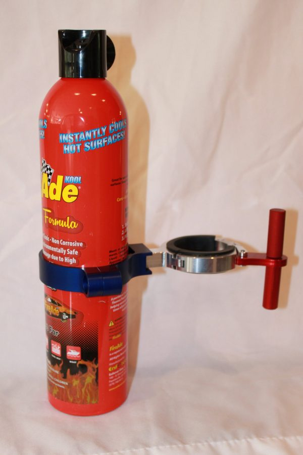 Easy Release FireAde Extinguisher Clamp