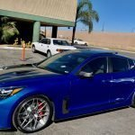 2018 Kia Stinger GT2 AWD, owner Bill Lesser