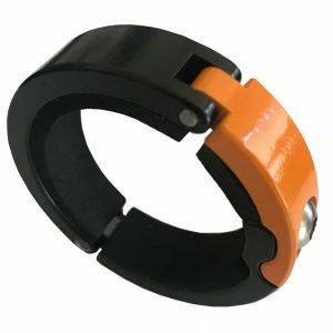 Gate Cuffs Black/Orange