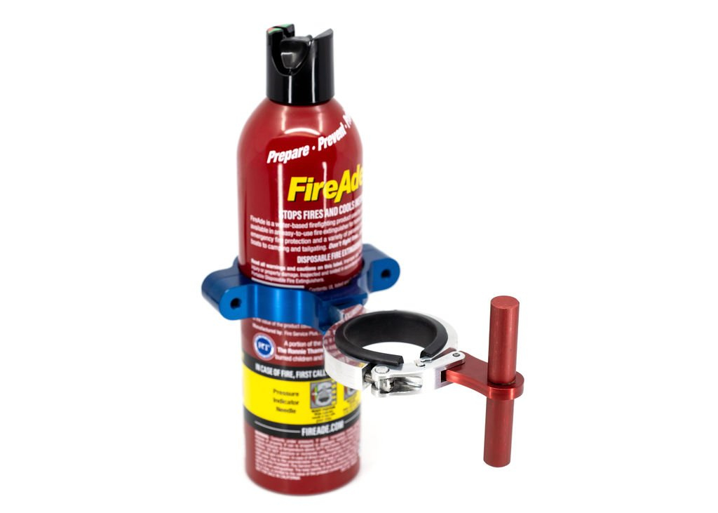 Easy Release extinguishers