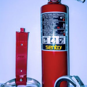 Refillable extinguisher kit