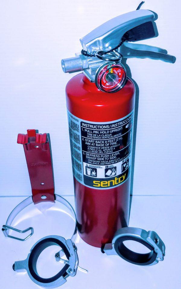 Refillable extinguishers